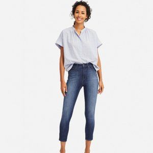 UNIQLO skinny ankle mid-rise jeans